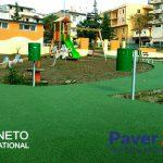 Pavimento antitrauma in gomma colata Calabria
