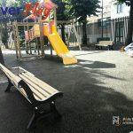 Pavimento antitrauma gomma colata Emilia Romagna