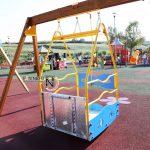 Parco inclusivo- pavimento antitrauma Paverplay gomma colata