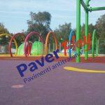 Spray park in Calabria -pavimento antitrauma