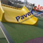 pavimento antitrauma parco acquatico