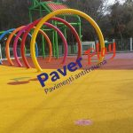 pavimento antitrauma spray park