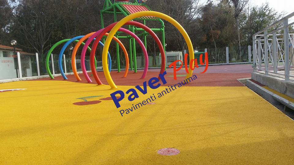 Home pavimenti antitrauma in gomma paverplay