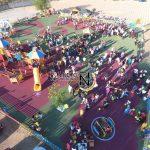 Parco inclusivo 1500 mq- pavimento antitrauma Paverplay gomma colata