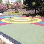 Pavimento antitrauma  gomma colata playground
