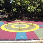 Pavimenti antitrauma  colorato