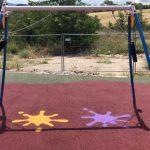pavimenti antitrauma in gomma riciclata playground  -parco di Luzzi