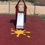 pavimento antitrauma in gomma riciclata